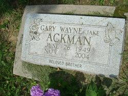 Gary Wayne Jake Ackman