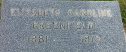 Elizabeth Caroline Greenfield