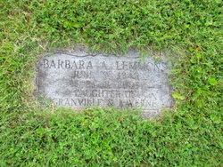 Barbara Ann Lemmons