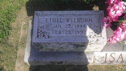 Ethel M <i>Welborn</i> Isaacs