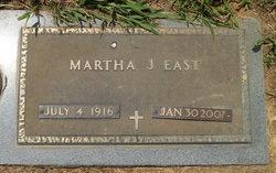 Martha J <i>Sailors</i> East