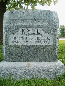 Matilda Catherine Tillie <i>Pecht</i> Kyle