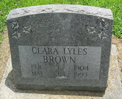Clara <i>Lyles</i> Brown