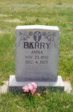 Anna Johanna <i>Gebauer</i> Barry