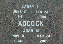 Joan M Adcock