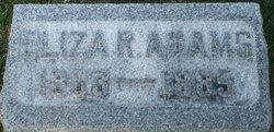 Eliza R <i>Richards</i> Adams