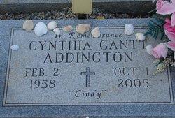 Cynthia Dianne Cindy <i>Gantt</i> Addington