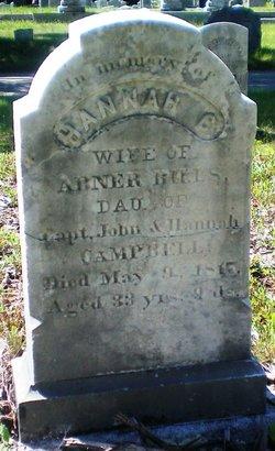 Hannah C. <i>Campbell</i> Bills