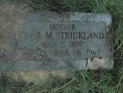 Ollie Mae <i>Tubbs</i> Strickland