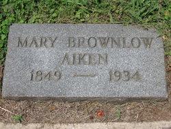 Mary <i>Brownlow</i> Aiken