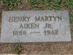 Henry Martyn Aiken, Jr