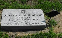 PFC Donald Eugene Adams