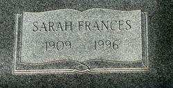 Sarah Frances Adams