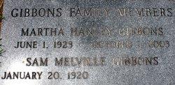 Martha Hanley Gibbons