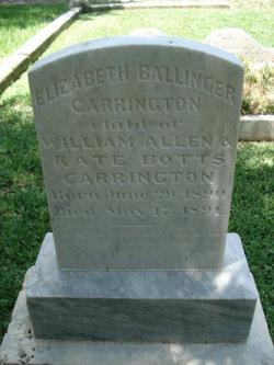 Elizabeth Ballinger Carrington