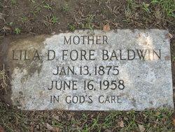 Lila Dean <i>Fore</i> Baldwin