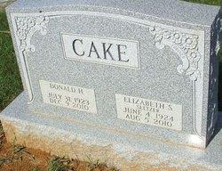 Elizabeth S <i>Seltzer</i> Cake