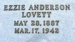 Ezzie <i>Anderson</i> Lovett