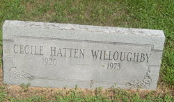 Cecile <i>Hatten</i> Willoughby