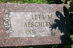 Leta M. Aeschleman