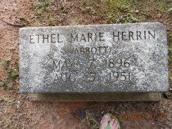 Ethel Marie <i>Abbott</i> Herrin