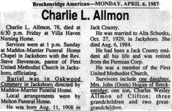 Charles L. Allmon