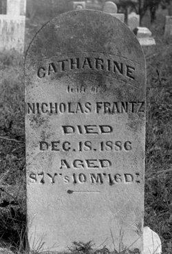 Catharine <i>Crist</i> Frantz