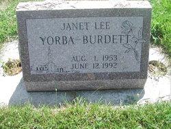 Janet Lee <i>Yorba</i> Burdett