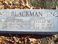 Nannie Dell <i>Jones</i> Blackman