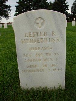Lester R Heidebrink