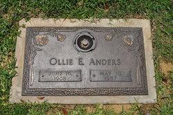 Ollie Earl Bud Anders