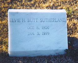 Elvie Hitchings <i>Butt</i> Sutherland