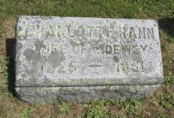Charlotte C. <i>Rann</i> Dewey