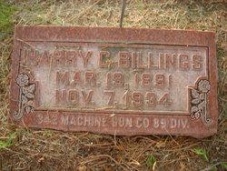 Harry Clifford Billings