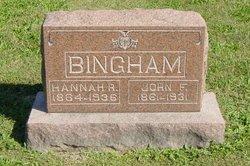 Hannah R Bingham