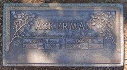 Doris Irene <i>Pickett</i> Ackerman