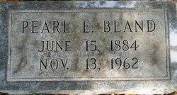 Pearl E Bland