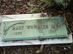 Mary <i>Whitaker</i> Joh