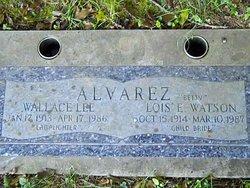 Wallace Lee Wally Lee Alvarez