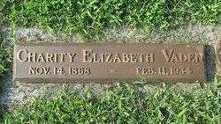 Charity Elizabeth <i>Kemp</i> Vaden