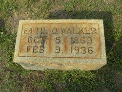 Ettie O. Walker