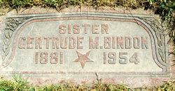 Gertrude Mary <i>Birks</i> Bindon