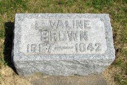 L. Valine Brown