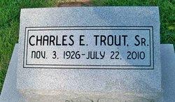 Charles Edwin Trout, Sr