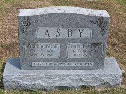 Myrtie <i>Winstead</i> Asby