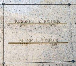 Alice Louise <i>Wilcox</i> Fisher