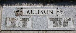 Anena <i>Shupe</i> Allison
