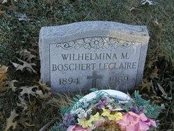 Wilhelmina Mary <i>Ludwig</i> LeClaire