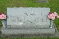 Joyce M <i>Elam</i> Bingham
