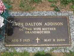 Ruth <i>Dalton</i> Addison